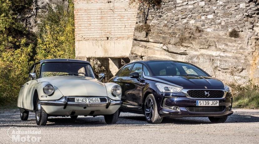 Citroën DS19 y DS 5 60 Aniversario