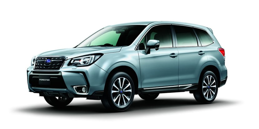 Subaru Forester 2017 - Frontal