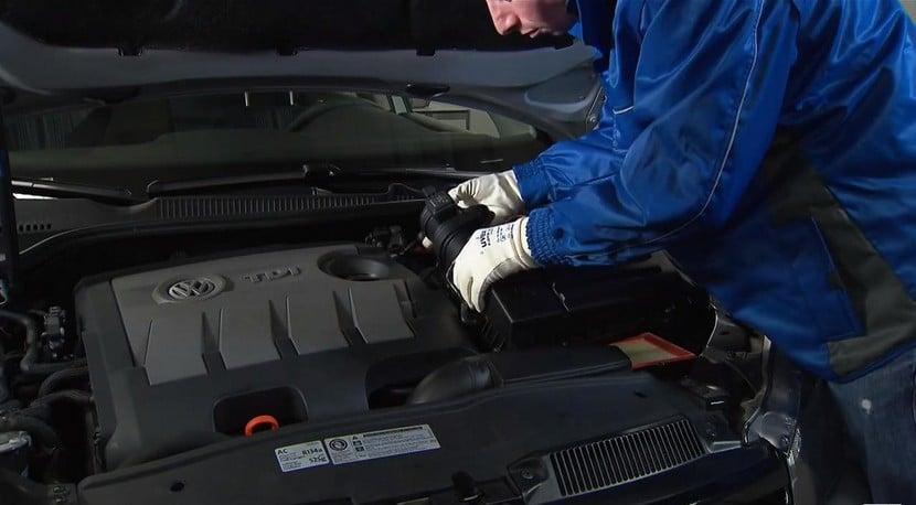 Pieza solución motor 1.6 TDI EA189 Volkswagen