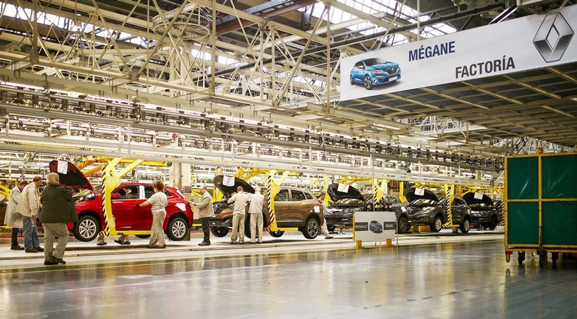 El nuevo Renault Mégane ya se fabrica en Palencia