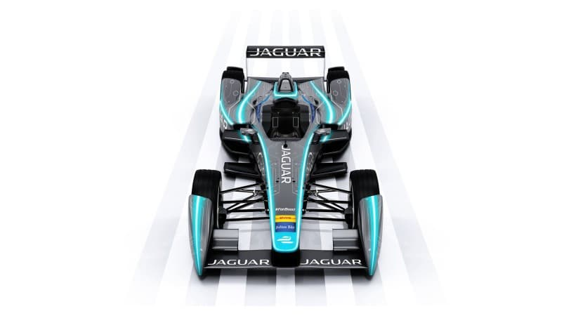 Jaguar Fórmula E frontal