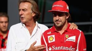 Montezemolo con Alonso