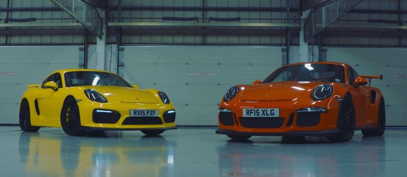Porsche 911 GT3 RS vs Porsche Cayman GT4
