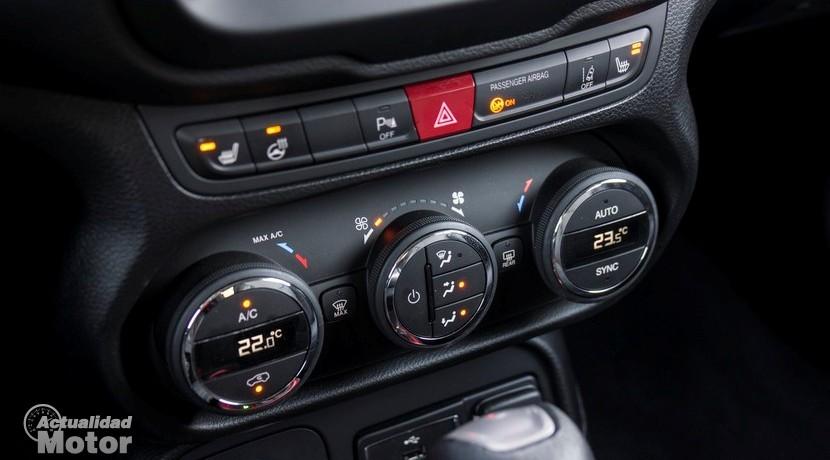 Prueba Jeep Renegade Trailhawk climatizador