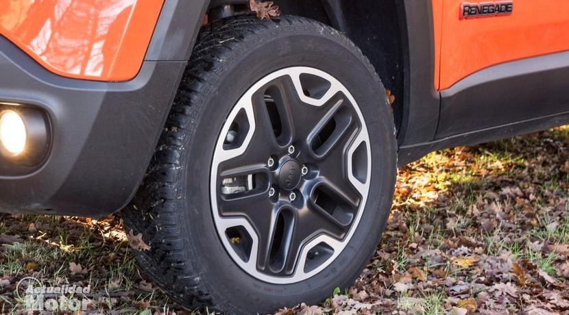 Prueba Jeep Renegade Trailhwak