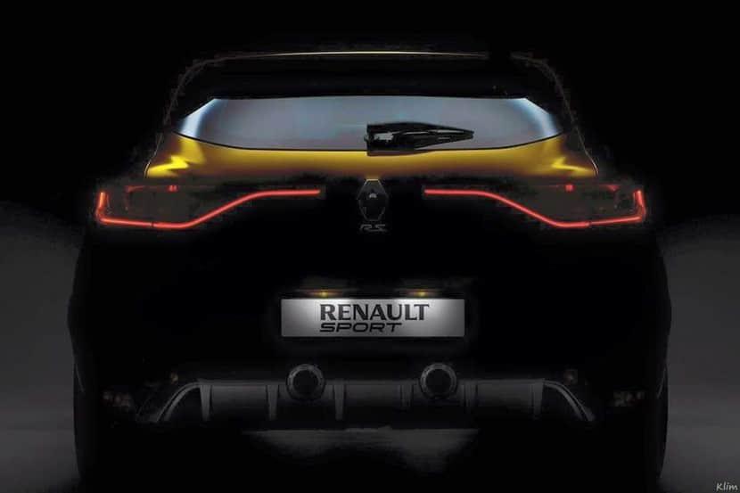 Renault Mégane RS 2016 recreación