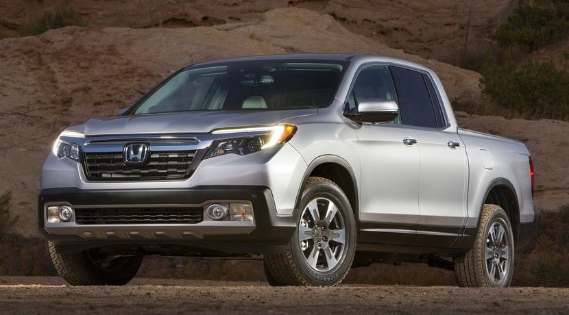 Honda Ridgeline 2017 pick-up