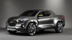 Hyundai Santa Cruz pick up