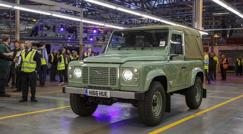 El Land Rover Defender se despide tras 68 años