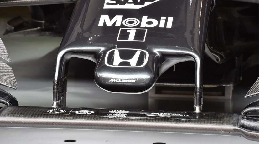 McLaren-Honda logo morro