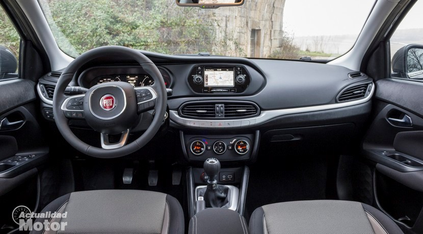 Prueba Fiat Tipo 1.6 MultiJet 120 CV
