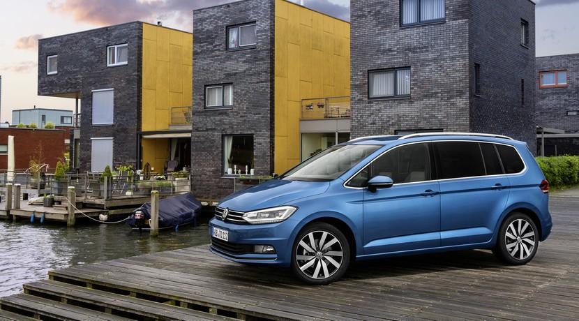 Volkswagen Touran Best in Class EuroNCAP