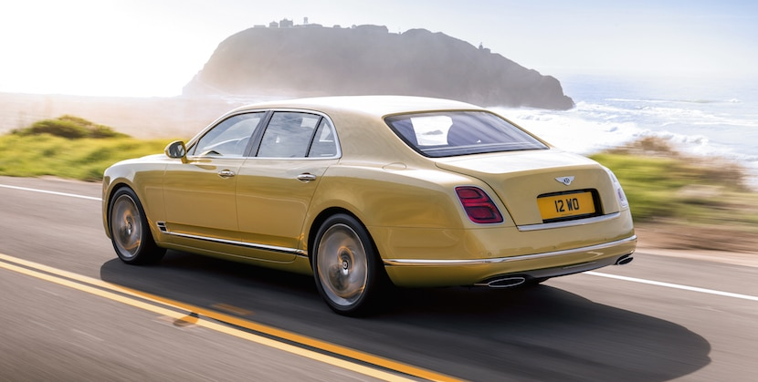 Bentley Mulsanne 2016 Speed