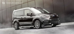 Ford Transit Connect tuneada por Carlex Design