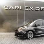 Ford Transit Connect tuneada por Carlex Design