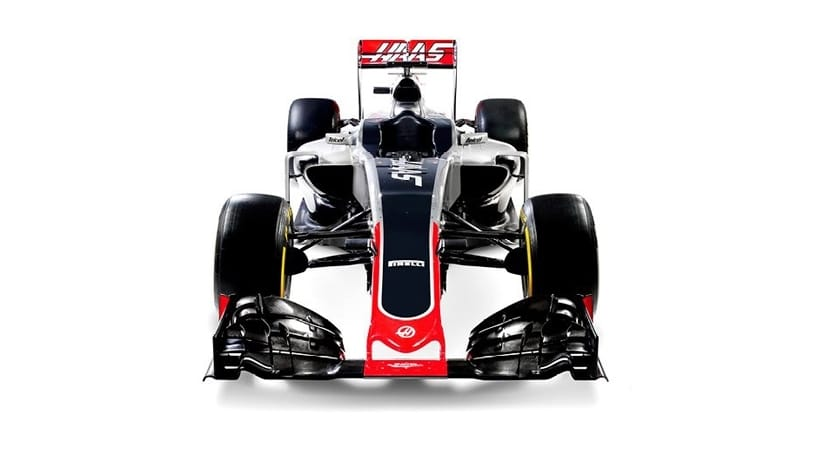 Haas VF16 frontal