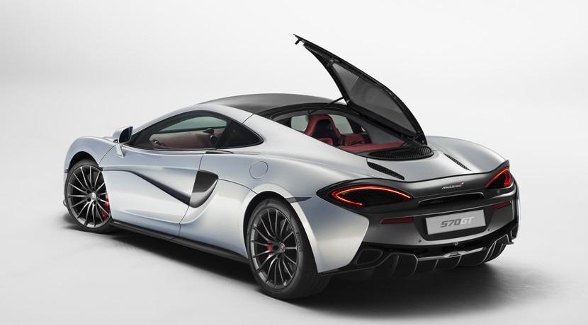 McLaren 570 GT maletero