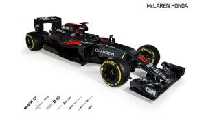 McLaren MP4-31 Lateral