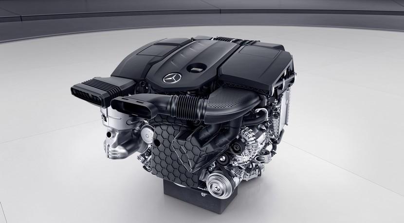 Mercedes OM 654 motor diésel
