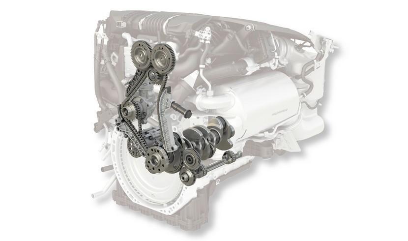 Mercedes OM 654 distribución 2.0 diésel