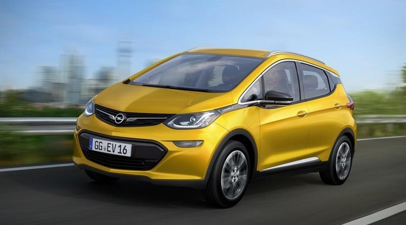 Opel Ampera-E vista frontal