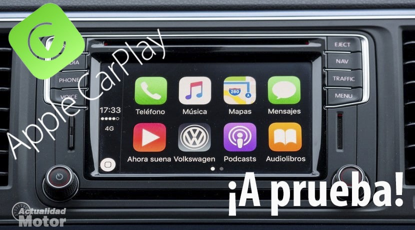 Apple CarPlay Prueba