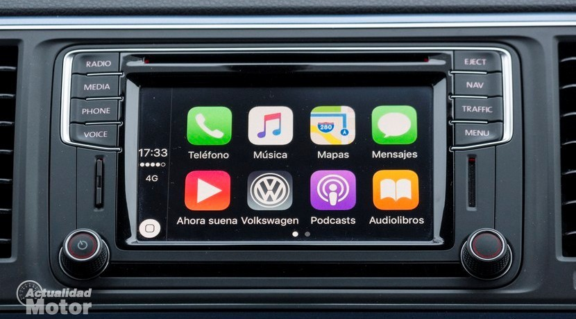 Apple CarPlay pantalla inicio