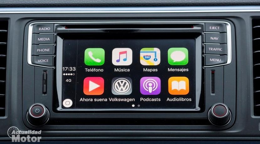 Apple CarPlay pantalla inicio