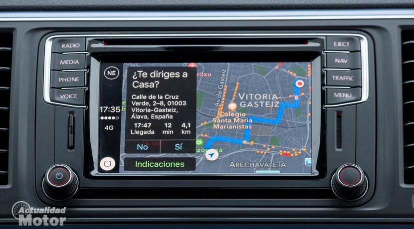 Mapas en Apple CarPlay