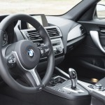 Prueba BMW 118d 5 puertas interior