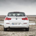 Prueba BMW 118d 5 puertas vista trasera