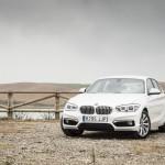 Prueba BMW 118d 5 puertas vista frontal