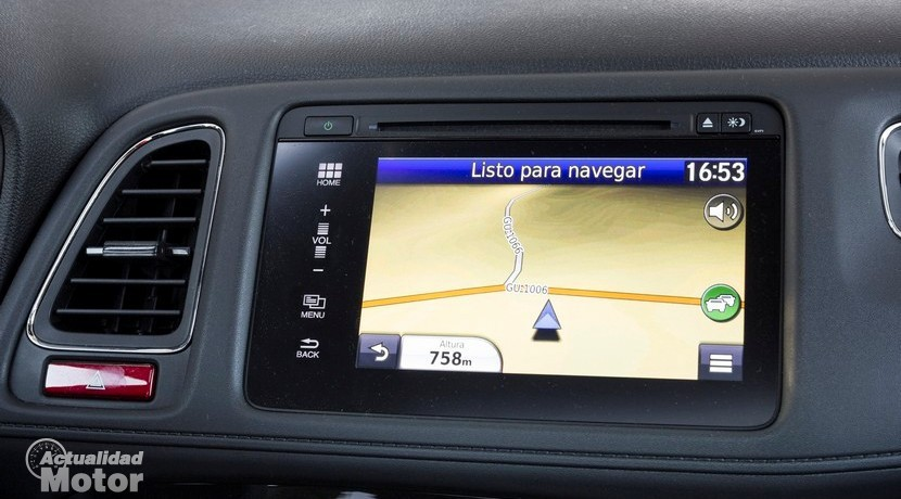"Navegador Honda Connect 7"" en Honda HR-V"