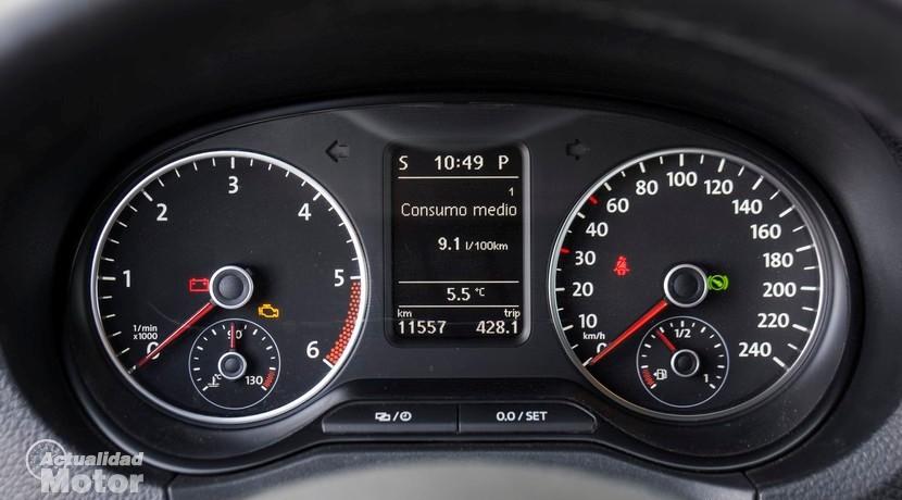 Cuadro relojes Prueba Volkswagen Amarok 2.0 TDI BiTurbo 180 CV 4Motion Automático