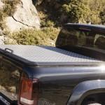 Prueba Volkswagen Amarok 2.0 TDI BiTurbo 180 CV 4Motion Automático tapa caja carga aluminio