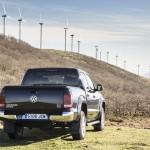 Prueba Volkswagen Amarok 2.0 TDI BiTurbo 180 CV 4Motion Automático vista trasera