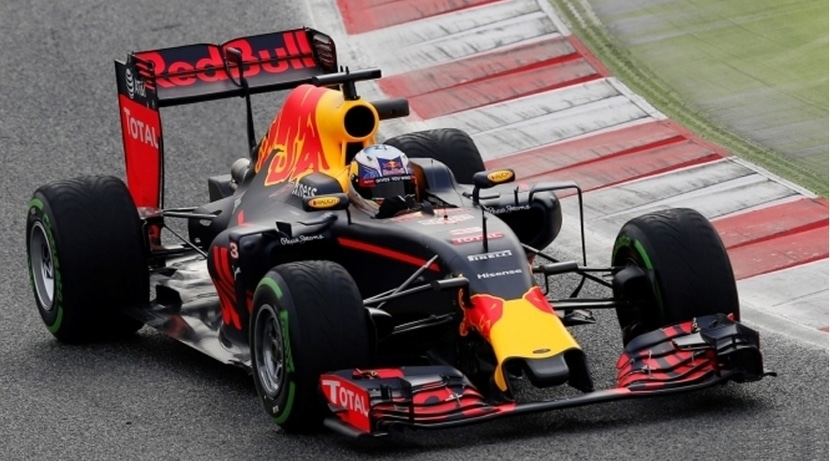 Red Bull RB12 en Barcelona