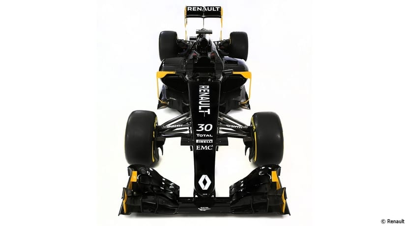Renault RS16 frontal