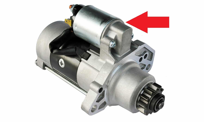 El solenoide de un motor de arranque es solo uno de los que hay en un coche