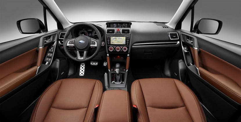Subaru Forester 2016 interior