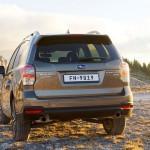 Subaru Forester 2016 vista trasera