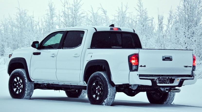 Toyota Tacoma TRD Pro vista trasera