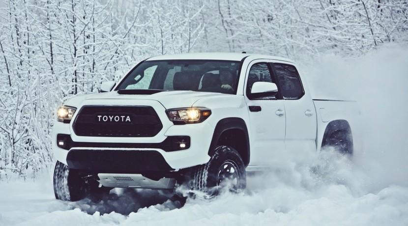 Toyota Tacoma TRD Pro vista frontal