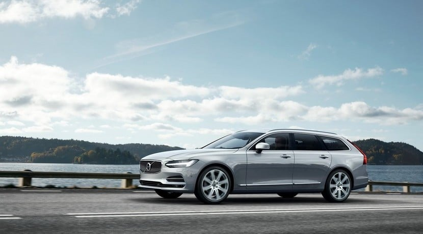 Volvo V90 2016 vista frontal