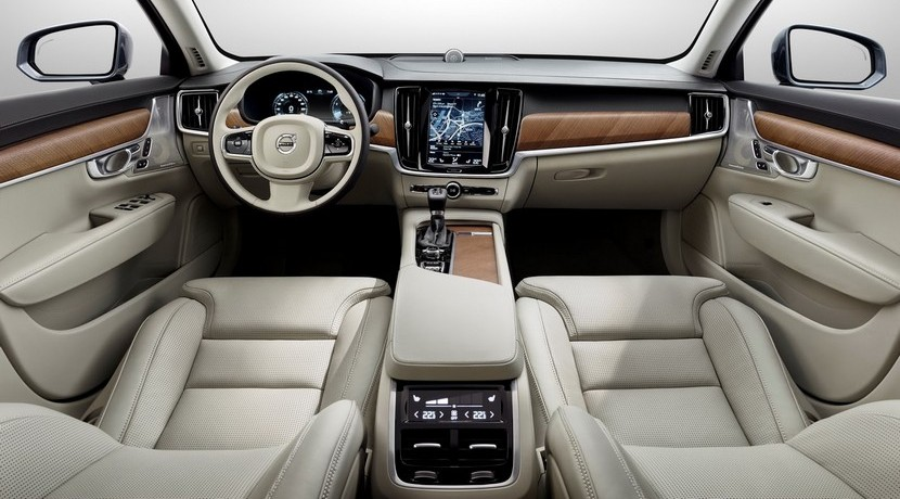 Volvo V90 2016 interior salpicadero