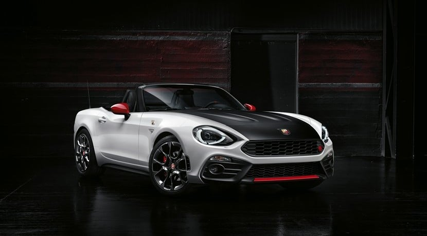 Abarth 124 Spider 2016 vista frontal