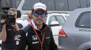 Alonso GP de Bahrein 2016