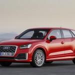 Audi Q2 2016 vista frontal