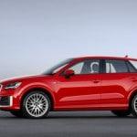 Audi Q2 2016 vista lateral