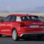 Audi Q2 2016 vista trasera